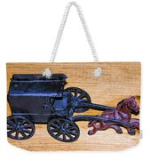 Antique Cast Iron Toy Weekender Tote Bag