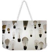 Antique Light Bulbs Weekender Tote Bag