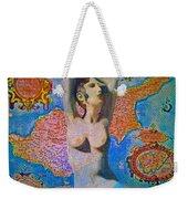 Aphrodite And Ancient Cyprus Map Weekender Tote Bag