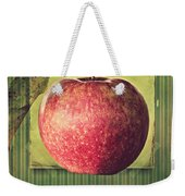 Apple Weekender Tote Bag