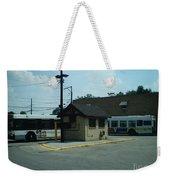 Archer/neva Cta Bus Terminal Weekender Tote Bag