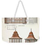Architecture In Wood, C.1900 Weekender Tote Bag