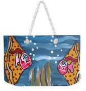 Art Fish Weekender Tote Bag