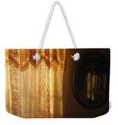 Art Homage Edward Hopper Winter Light Window Curtain Reflection Bedroom Casa Grande Arizona 2005 Weekender Tote Bag