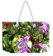 Art In The Garden II Weekender Tote Bag