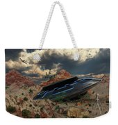 Artist Concept Of The Roswell Incident Weekender Tote Bag
