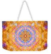 Sun Sparkle Mandala  Weekender Tote Bag