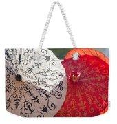 Asian Umbrellas Weekender Tote Bag
