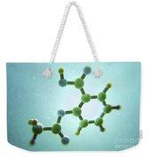 Aspirin Molecule Weekender Tote Bag