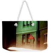 At Night In Thuringia Village Germay Weekender Tote Bag