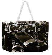 Auction Sale Last Ride Adolf Hitler's Model 770-k 1941 Mercedes-benz Touring Car Scottsdale Az 1973 Weekender Tote Bag