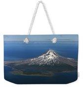 Augustine Volcano Cook Inlet Alaska Weekender Tote Bag