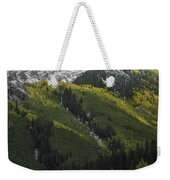 Autumn Angles Weekender Tote Bag