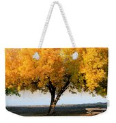 Autumn At The River Weekender Tote Bag