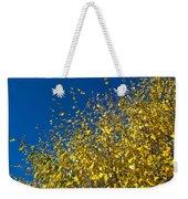 Autumn Blue Sky Weekender Tote Bag