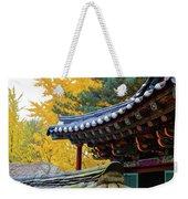 Autumn Color At Namsangol Folk Village Weekender Tote Bag