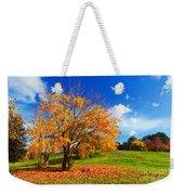 Autumn Fall Landscape Weekender Tote Bag