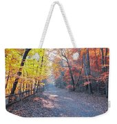Autumn On Forbidden Drive Weekender Tote Bag