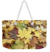 Autumn Sycamore Leaves Germany Weekender Tote Bag