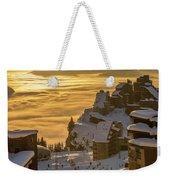 Avoriaz At Sunset Weekender Tote Bag