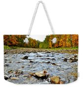 Babbling Brook Weekender Tote Bag by Frozen in Time Fine Art Photography