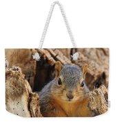 Baby Fox Squirrel Weekender Tote Bag