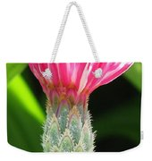 Bachelor Button From The Frosted Queen Mix Weekender Tote Bag