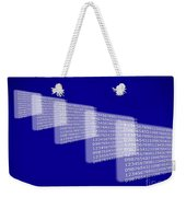 Background Numbers Weekender Tote Bag