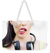 Bad Taste In Music Weekender Tote Bag