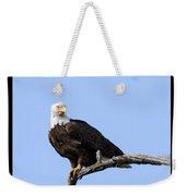 Bald Eagle 7 Weekender Tote Bag