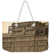 Baltimore Orioles Park At Camden Yards Weekender Tote Bag by Frank Romeo