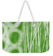 Bamboo Weekender Tote Bag by Linda Woods