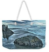 Bandon Beach Swirls Weekender Tote Bag