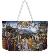 Baptism Of Christ Weekender Tote Bag