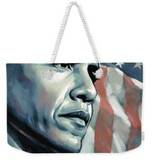 Barack Obama Artwork 2 Weekender Tote Bag