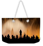 Barcelona By Night Weekender Tote Bag