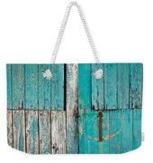 Barn Door Weekender Tote Bag by Tom Gowanlock