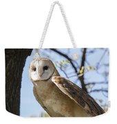 Barn Owl Weekender Tote Bag