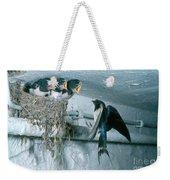 Barn Swallows Weekender Tote Bag