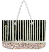 Bars Weekender Tote Bag by Tom Gowanlock