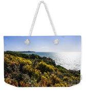 Bass Strait Ocean Landscape In Tasmania Weekender Tote Bag