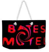 Bates Motel In Blood And Twisted Weekender Tote Bag
