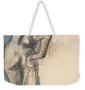 Bather Drying Herself Weekender Tote Bag