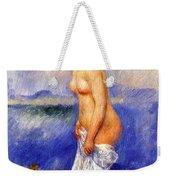 Bather Weekender Tote Bag