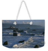 Battery Point Lighthouse At Sunset Weekender Tote Bag