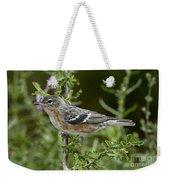 Bay-breasted Warbler Weekender Tote Bag
