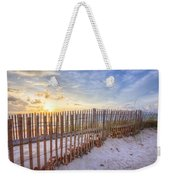 Beach Fences Weekender Tote Bag