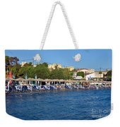 Beach In Aegina Town Weekender Tote Bag