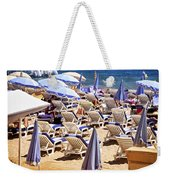 Beach In Cannes Weekender Tote Bag