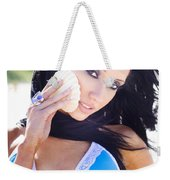 Beach Sightseeing Tour Weekender Tote Bag